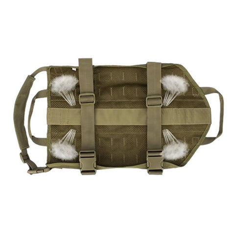 Tactical Dog Training Vest Harness with Two Handles