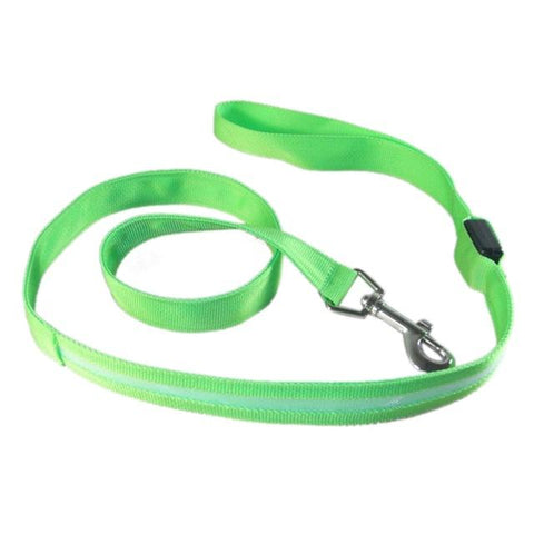 Image of Nylon LED Light Up Dog Leash