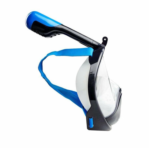 Image of Wildhorn Seaview 180 Degree Large/XL Full Face Scuba Diving Snorkel Mask, Navy