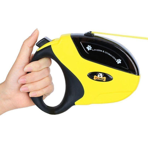 Image of Retractable 10 Ft Dog Walking Leash For Small Dogs