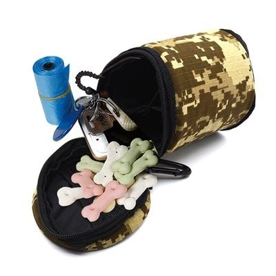 Image of Camouflage Portable Dog Training Treat Bag