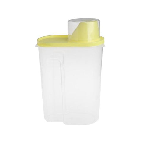 Image of Pet Dog Food Container With Measuring Cup