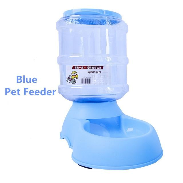 Automatic Pet Dog Feeder and Waterer