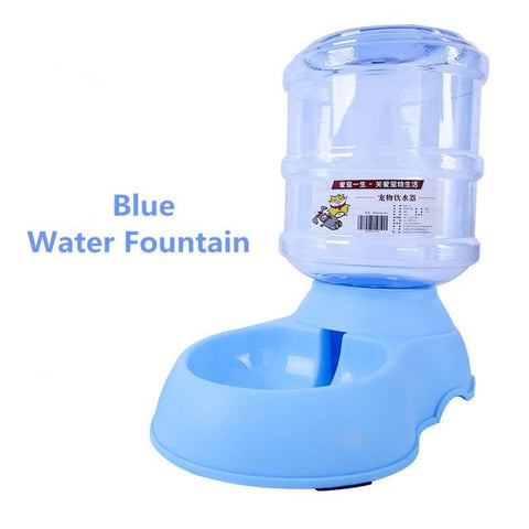 Image of Automatic Pet Dog Feeder and Waterer