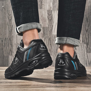 Men Lace Up Soft Casual Walking Shoes