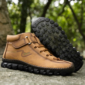 Fall Leather Boots For Man