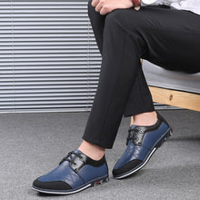 Load image into Gallery viewer, Cowhide Leather Daily Casual Shoes