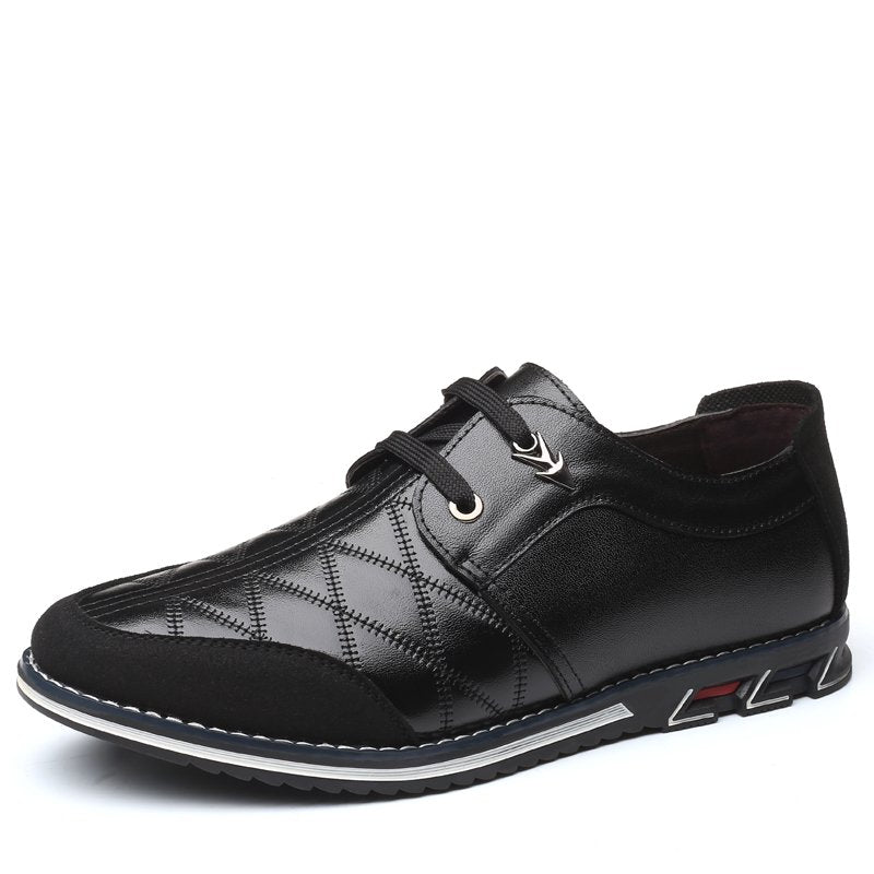 Cowhide Leather Daily Casual Shoes