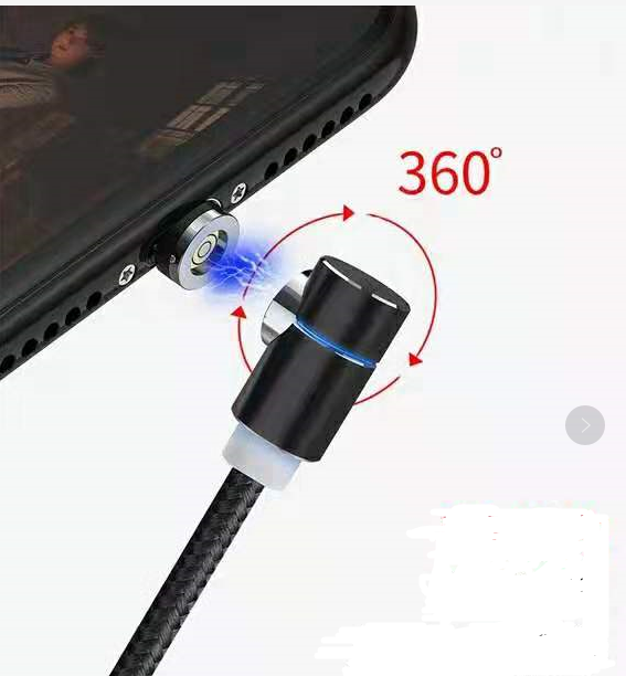 360° Magnetic Charging Cable (TYPE C, LIGHTING, MICRO COMBO PACK)