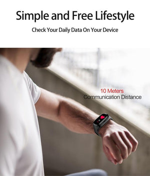 Smart Watch With TWS Wireless IP67 Bluetooth 5.0 Earbuds Fitness Tracker Heart Rate Monitor Smart Wristband Sports Watch