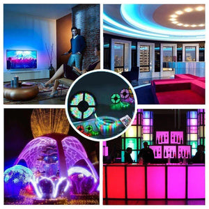 Smart LED Light Strip ----300 LEDs Flexible Color Changing Light