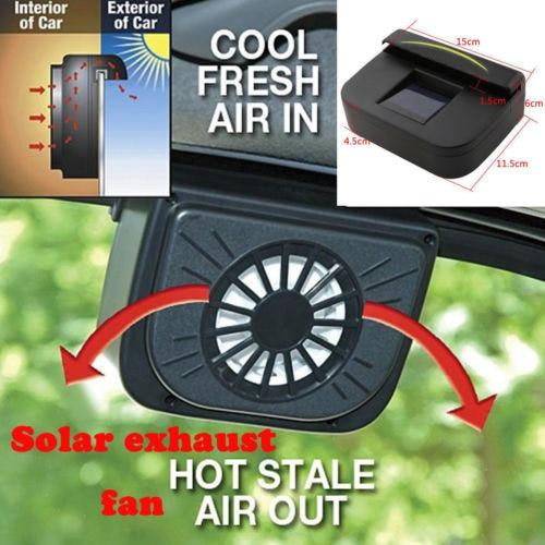 Solar Car Exhaust Fan