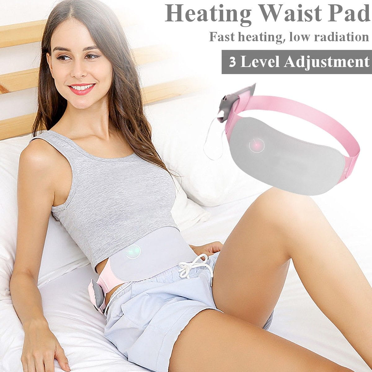 Heating Pad Therapy For Menstrual Cramp Pain Relief Infrared Physical Therapy