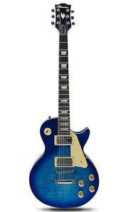 Blue Les Paul Electric Guitar