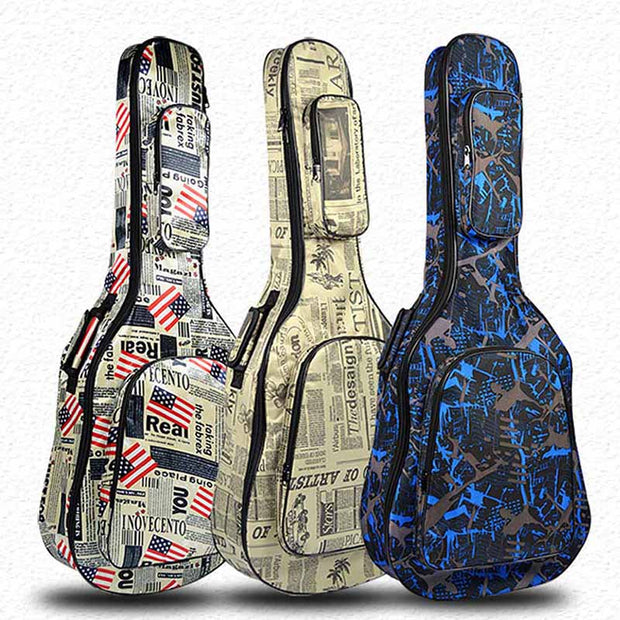 Waterproof soft Guitar case (Artistic Collection)