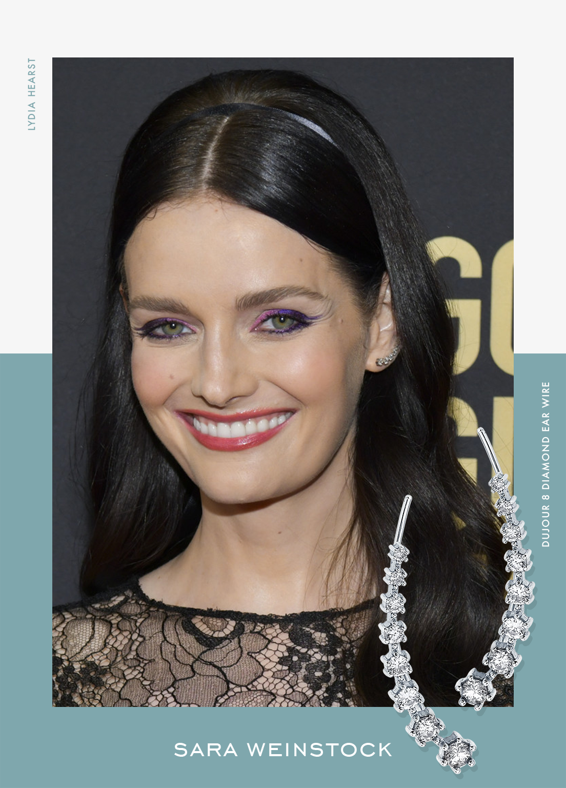 Lydia Hearst attends HFPA's Golden Globe Ambassadors Event