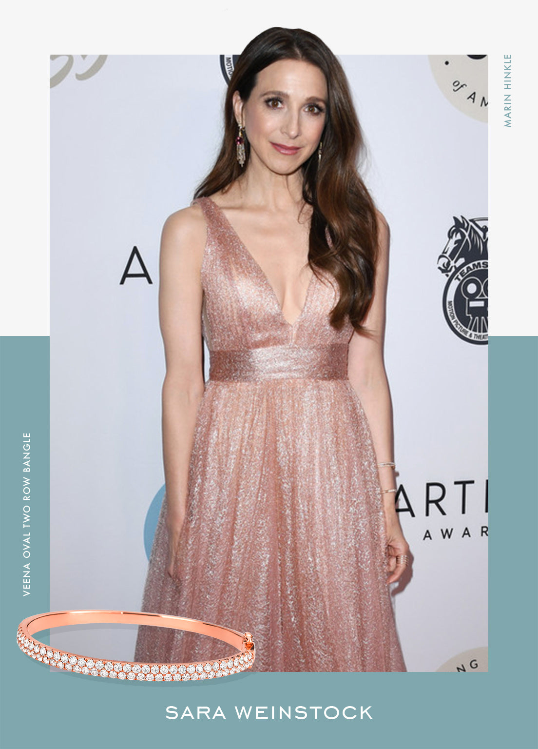 Marin Hinkle at the 35th Annual Artios Awards - Sara Weinstock