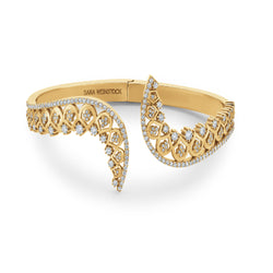 SW Archive Divinity Spiked Bangle Cuff - Sara Weinstock Fine Jewelry