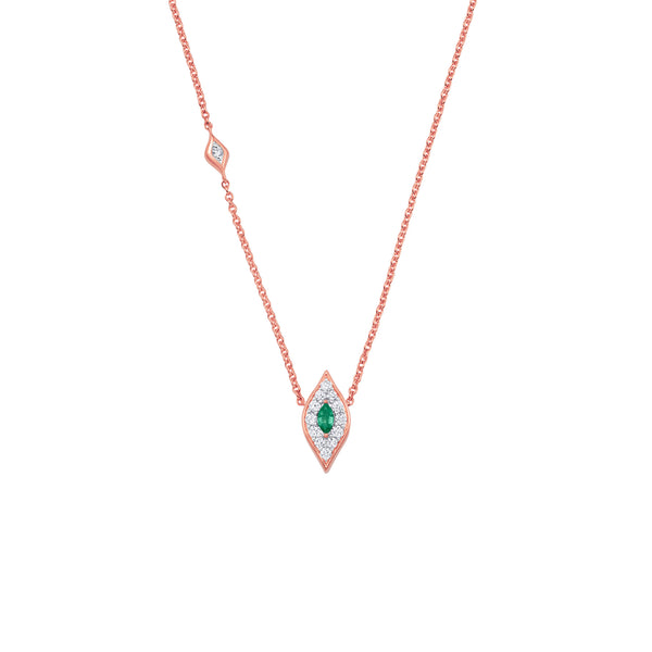 Donna Emerald Necklace - Sara Weinstock Fine Jewelry