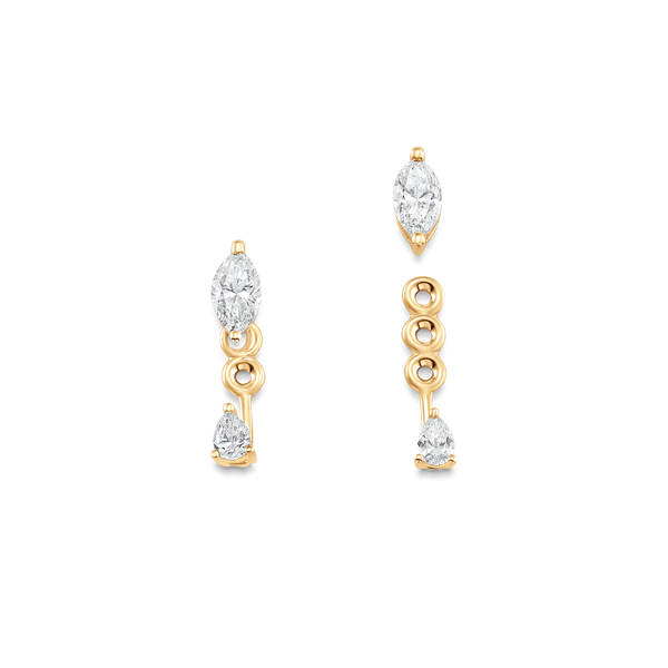 Purity Diamond Ear Jacket Earrings