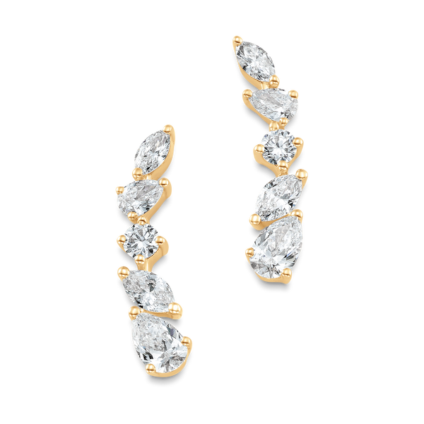 Purity Diamond Ear Crawlers