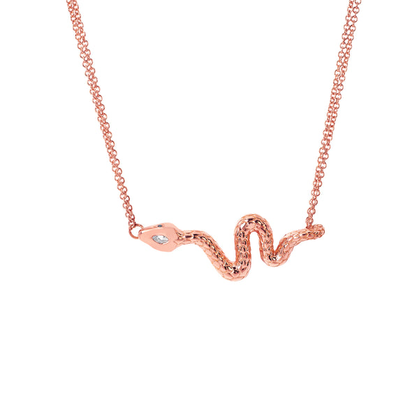SW Archive Serpent Necklace - Sara Weinstock Fine Jewelry