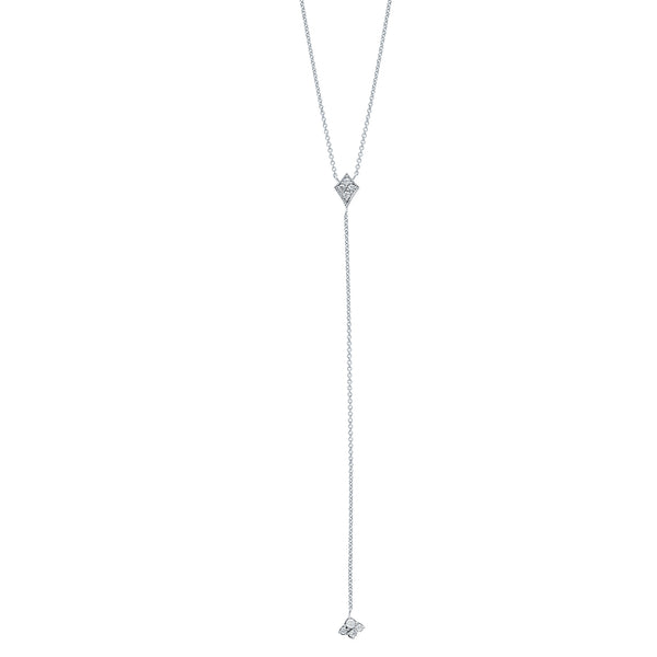 SW Archive Marquis Lariat Necklace - Sara Weinstock Fine Jewelry