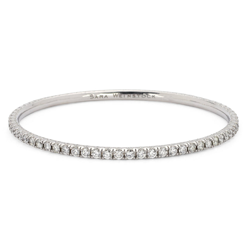 Eternity Bangle-Bracelets-Sara Weinstock Fine Jewelry