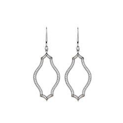 Veena Shield Earrings - Sara Weinstock Fine Jewelry