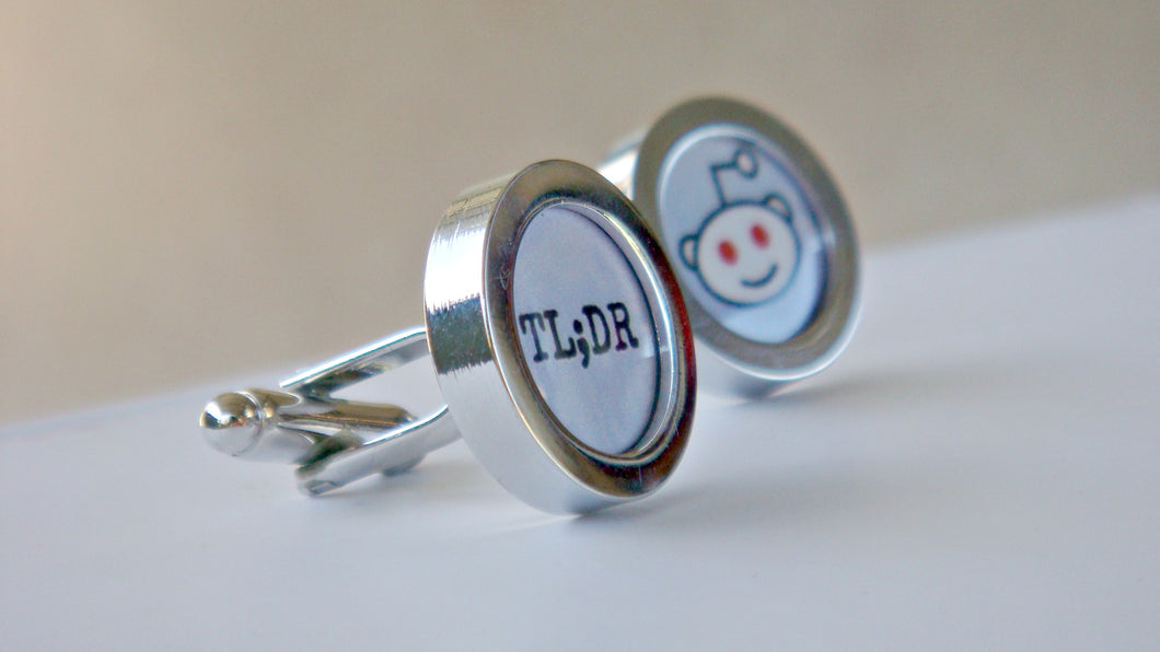 Nerdy Cufflinks, Reddit Alien Cuff Links, Techie For Him Boyfriend Gift, Reddit Cuff Links, Gamers, Mens Cufflinks, Geeky Jewelry, Wholesale