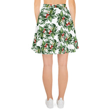 Load image into Gallery viewer, Tropical Flowers Skater Skirt