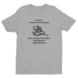 Traveler Definition Short Sleeve T-shirt