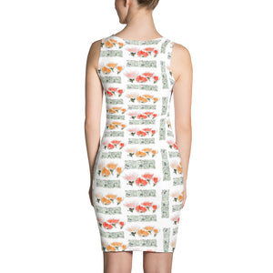 Floral Sublimation Cut & Sew Dress