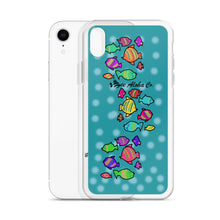 Load image into Gallery viewer, Colored Tropical Fishes iPhone Case