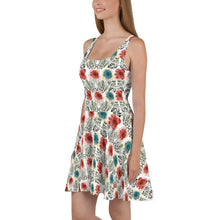 Load image into Gallery viewer, Floral Skater Dress