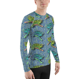 Hawaiian - Chameleon Men's Long Sleeve T-Sirt