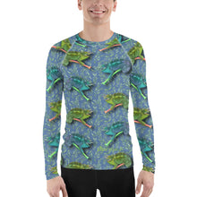 Load image into Gallery viewer, Hawaiian - Chameleon Men's Long Sleeve T-Sirt