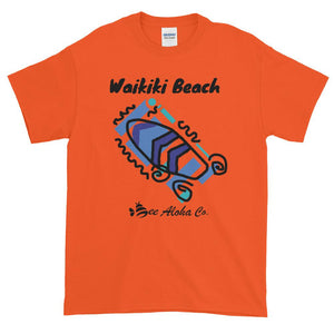 Waikiki Beach Surf Time Short-Sleeve T-Shirt