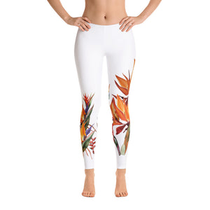 Tropical Flowers Leggings