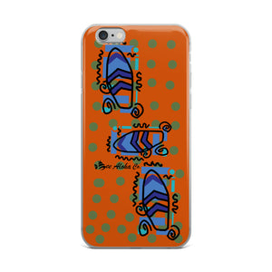 Waikiki Beach Surf Time iPhone Case