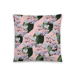 Hawaiian- Magnolia Pillow