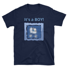 Load image into Gallery viewer, It's A Boy Short-Sleeve Unisex T-Shirt