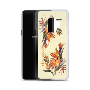 Tropical Flowers Samsung Case