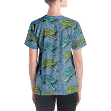 Load image into Gallery viewer, Hawaiian - Chameleon Women's V-Neck T-Shirt