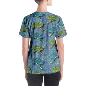 Hawaiian - Chameleon Women's V-Neck T-Shirt