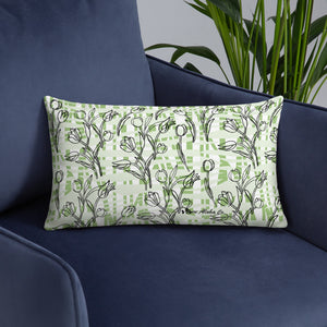 Tulips Basic Pillow 20x12