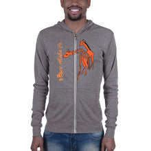 Load image into Gallery viewer, Giraffe  Unisex zip hoodie