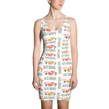 Load image into Gallery viewer, Floral Sublimation Cut & Sew Dress