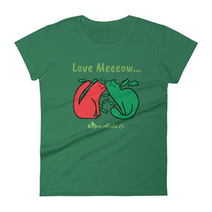 Love Me Meow Women's short sleeve t-shirt