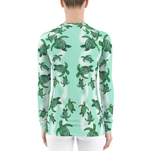 Tropical Turtle Women's Long Sleeve T-shirt